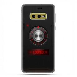 Samsung Galaxy S10e - etui na telefon z grafiką - Elektroniczny sejf
