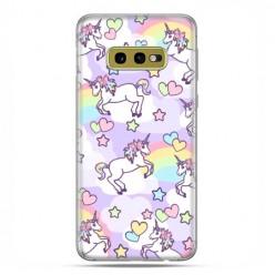 Samsung Galaxy S10e - etui na telefon z grafiką - Zakochane jednorożce