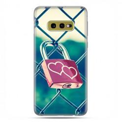 Samsung Galaxy S10e - etui na telefon z grafiką - Kłódka symbol wiecznej miłości