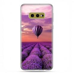 Samsung Galaxy S10e - etui na telefon z grafiką - Lot nad polem lawendy