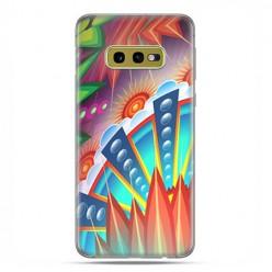 Samsung Galaxy S10e - etui na telefon z grafiką - Mechaniczna mandala