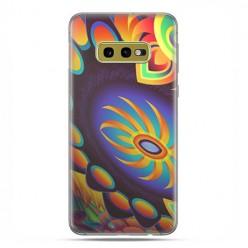 Samsung Galaxy S10e - etui na telefon z grafiką - Mandala złoty pająk