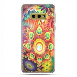 Samsung Galaxy S10e - etui na telefon z grafiką - Ognista rozeta