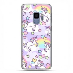 Samsung Galaxy S9 - etui na telefon z grafiką - Zakochane jednorożce
