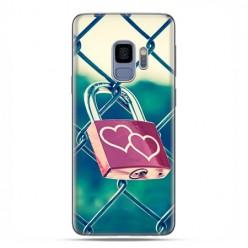 Samsung Galaxy S9 - etui na telefon z grafiką - Kłódka symbol wiecznej miłości