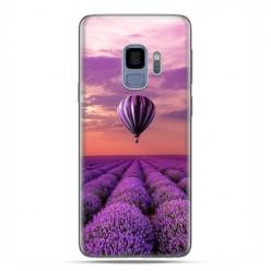 Samsung Galaxy S9 - etui na telefon z grafiką - Lot nad polem lawendy