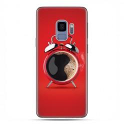 Samsung Galaxy S9 - etui na telefon z grafiką - Kawa poranny budzik