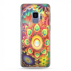 Samsung Galaxy S9 - etui na telefon z grafiką - Ognista rozeta