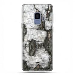 Samsung Galaxy S9 - etui na telefon z grafiką - Drzewo pień brzozy