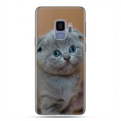 Samsung Galaxy S9 - etui na telefon z grafiką - Smutna mała kicia