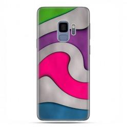 Samsung Galaxy S9 - etui na telefon z grafiką - Kolorowa roztopiona plastelina