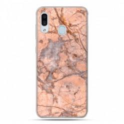 Samsung Galaxy A30 SM-A305 - etui na telefon z grafiką - Marmur Różowy kwarc