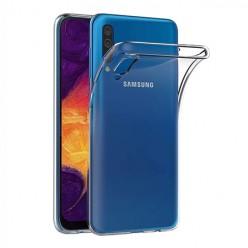 Samsung Galaxy A50 - silikonowe etui na telefon Clear Case - przezroczyste.