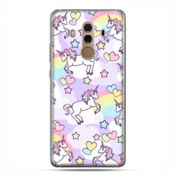 Huawei Mate 10 Pro - case etui na telefon - Zakochane jednorożce