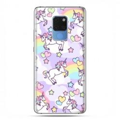 Huawei Mate 20 - case etui na telefon - Zakochane jednorożce