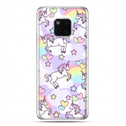Huawei Mate 20 Pro - nakładka etui na telefon Zakochane jednorożce