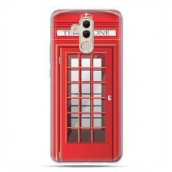 Etui na telefon Huawei Mate 20 Lite - czerwona budka telefoniczna