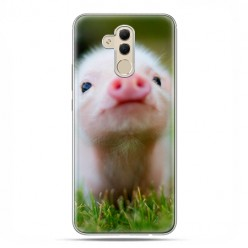 Etui na telefon Huawei Mate 20 Lite - mała świnka.