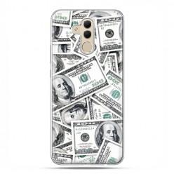 Etui na telefon Huawei Mate 20 Lite - banknoty dolarowe.