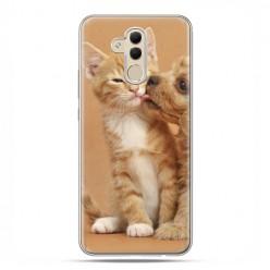 Etui na telefon Huawei Mate 20 Lite - zakochane szczeniaki.