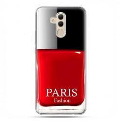 Etui na telefon Huawei Mate 20 Lite - czerwony lakier do paznokci