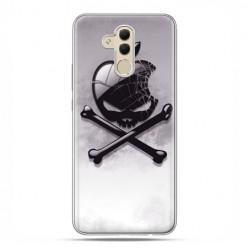 Etui na telefon Huawei Mate 20 Lite - czaszka logo.
