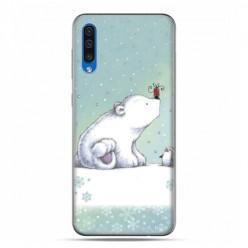 Etui na telefon Samsung Galaxy A50 - polarne zwierzaki.