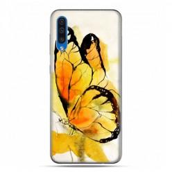 Etui na telefon Samsung Galaxy A50 - motyl watercolor.