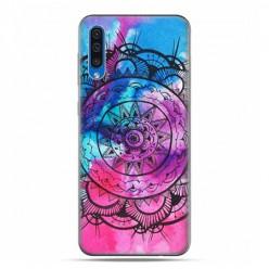 Etui na telefon Samsung Galaxy A50 - rozeta watercolor.