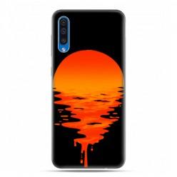 Etui na telefon Samsung Galaxy A50 - zachodzące słońce.