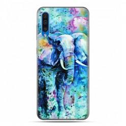 Etui na telefon Samsung Galaxy A50 - kolorowy słoń.