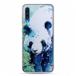 Etui na telefon Samsung Galaxy A50 - miś panda watercolor.