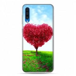 Etui na telefon Samsung Galaxy A50 - serce z drzewa.