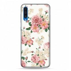 Etui na telefon Samsung Galaxy A50 - kolorowe polne kwiaty.