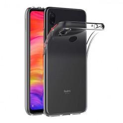 Xiaomi Redmi Note 7 - silikonowe etui na telefon Clear Case - przezroczyste.