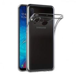 Samsung Galaxy A20E - silikonowe etui na telefon Clear Case - przezroczyste.