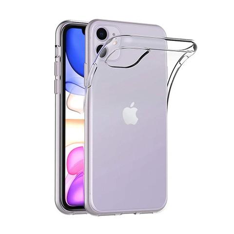 iPhone 11 - silikonowe etui na telefon Clear Case - przezroczyste.