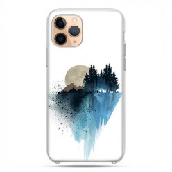 Etui case na telefon - Apple iPhone 11 Pro - Górski krajobraz.