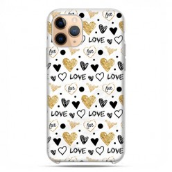 Etui case na telefon - Apple iPhone 11 Pro - Serduszka Love.