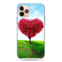 Etui case na telefon - Apple iPhone 11 Pro - Serce z drzewa.