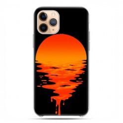 Etui case na telefon - Apple iPhone 11 Pro - Zachodzące słońce.