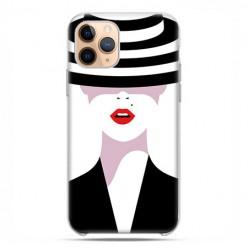 Etui case na telefon - Apple iPhone 11 Pro - Kobieta w kapeluszu.