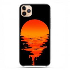 Etui case na telefon - Apple iPhone 11 Pro Max - Zachodzące słońce.