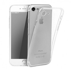 iPhone 8 - silikonowe etui na telefon - przezroczyste.