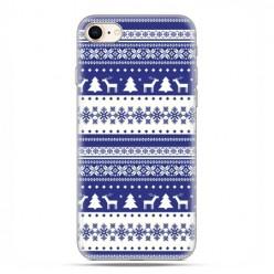Apple iPhone 6 - etui case na telefon - Niebieskie renifery