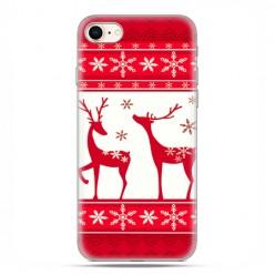 Apple iPhone 6 - etui case na telefon - Czerwone renifery