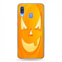 Samsung Galaxy A40 - etui na telefon wzory - Dynia Halloween