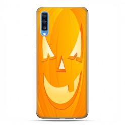 Samsung Galaxy A70 - etui na telefon wzory - Dynia Halloween