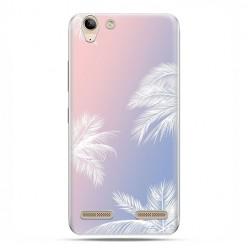 Lenovo K5 / K5 Plus - etui na telefon z grafiką - Egzotyczne palmy