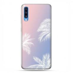 Samsung Galaxy A70 - etui na telefon wzory - Egzotyczne palmy